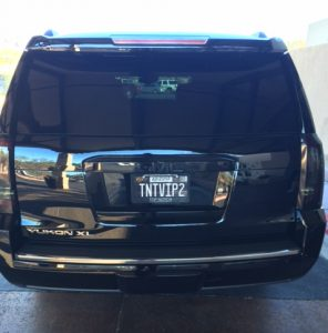 Rear of our 2015 Denali - TNT VIP 2