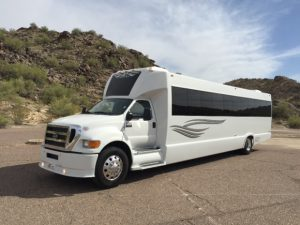 Party Bus in Pheonix, AZ - exterior