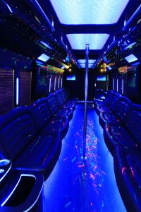 Party Bus in Pheonix, AZ - interior 1