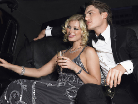 Fancy Night on the Town Limo and Chauffeur package - symphony