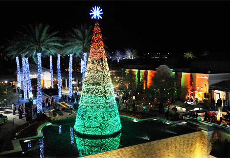 Christmas lights tour Phoenix